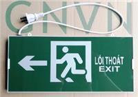 Đèn EXIT GNVN chỉ trái  1 mặt HW-150LED