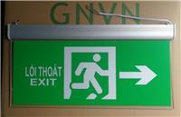 Đèn EXIT MICA GNVN 2 mặt chỉ hướng GN-120LED